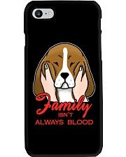 Beagle Family isn't always blood Phone Case thumbnail