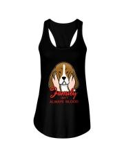 Beagle Family isn't always blood Ladies Flowy Tank thumbnail