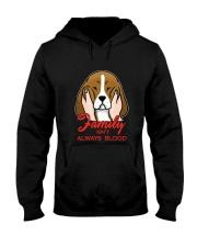 Beagle Family isn't always blood Hooded Sweatshirt thumbnail