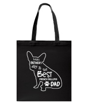 French Bulldog Dad T5TO Tote Bag thumbnail
