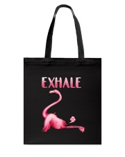 Flamingo Exhale Tote Bag thumbnail