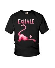 Flamingo Exhale Youth T-Shirt thumbnail