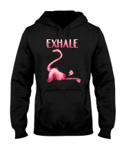 Flamingo Exhale Hooded Sweatshirt thumbnail