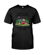 Camping Take A Hike Classic T-Shirt tile