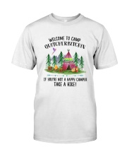 Camping Take A Hike Classic T-Shirt thumbnail