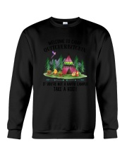 Camping Take A Hike Crewneck Sweatshirt tile