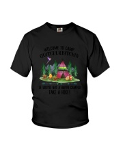 Camping Take A Hike Youth T-Shirt thumbnail