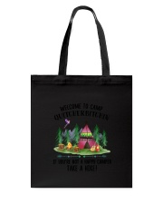Camping Take A Hike Tote Bag thumbnail