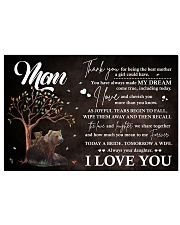 Family Mom I Always Your Daughter 17x11 Poster front