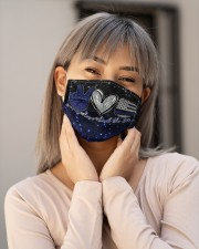 Back The Blue Peace Love T827 Cloth face mask aos-face-mask-lifestyle-17