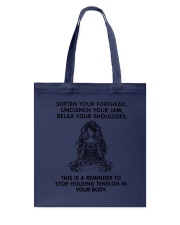 Yoga - Your Body Tote Bag thumbnail
