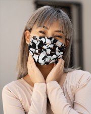 Cute Penguin G82407 Cloth face mask aos-face-mask-lifestyle-17