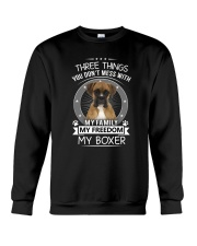 3 Things Boxer Crewneck Sweatshirt thumbnail