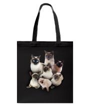Siamese Five Tote Bag thumbnail