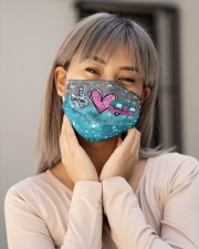 Camping Peace Love T827 Cloth face mask aos-face-mask-lifestyle-17