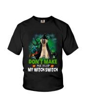 Caucasian Shepherd Dog Witch Youth T-Shirt thumbnail
