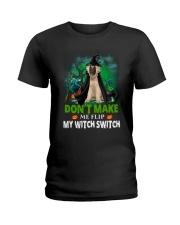 Caucasian Shepherd Dog Witch Ladies T-Shirt thumbnail