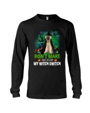 Caucasian Shepherd Dog Witch Long Sleeve Tee thumbnail
