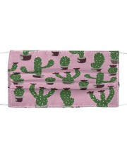 Lovely Cactus G82502 Cloth face mask front