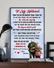 Family Thank Husband For Loving Me 11x17 Poster lifestyle-poster-2
