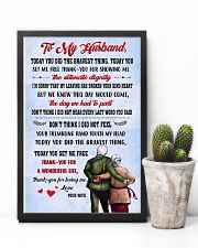 Family Thank Husband For Loving Me 11x17 Poster lifestyle-poster-8