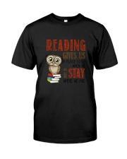 Owl Reading Classic T-Shirt tile
