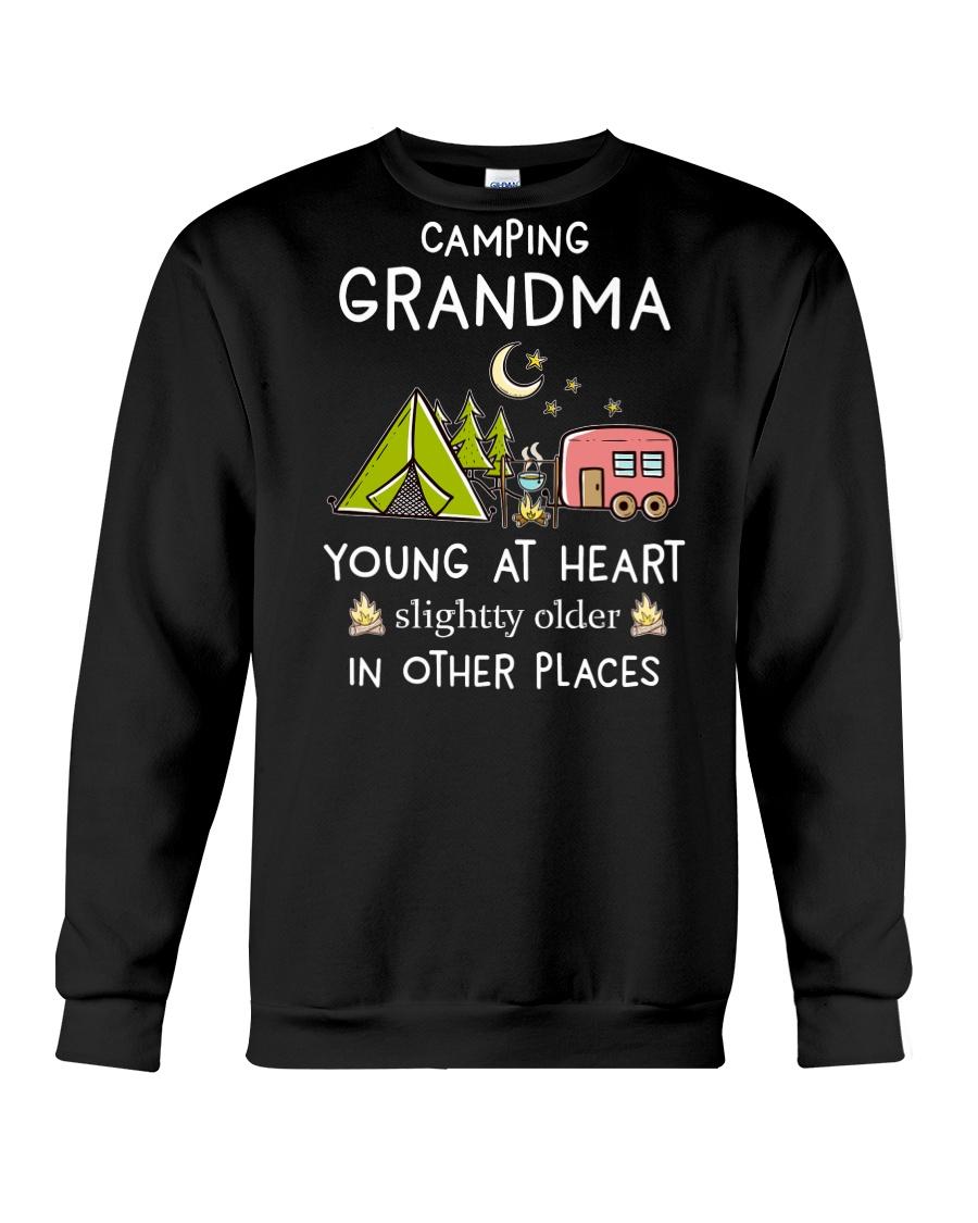 Camping Grandma Crewneck Sweatshirt