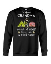 Camping Grandma Crewneck Sweatshirt front