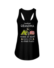 Camping Grandma Ladies Flowy Tank thumbnail