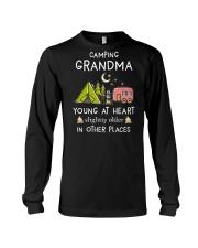 Camping Grandma Long Sleeve Tee thumbnail