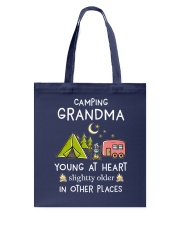 Camping Grandma Tote Bag thumbnail
