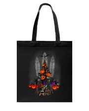 Manchester Terrier Halloween tree Tote Bag thumbnail