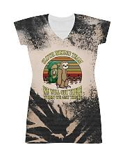 Sloth Hiking Team T5TS All-over Dress thumbnail