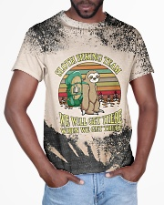 Sloth Hiking Team T5TS All-over T-Shirt aos-all-over-T-shirt-lifestyle-front-03