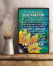 Family - Dad To My Daughter 11x17 Poster lifestyle-poster-3
