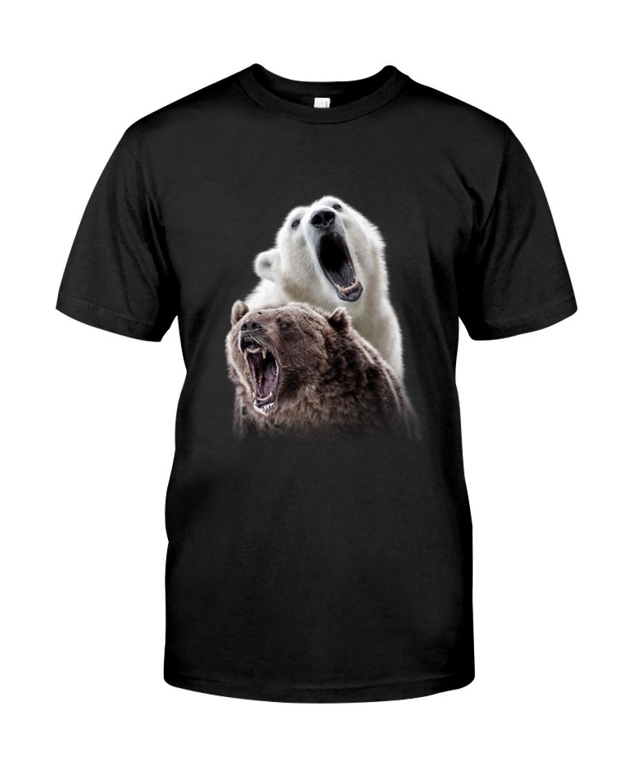 Polar Bear And Brown Bear Classic T-Shirt