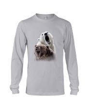 Polar Bear And Brown Bear Long Sleeve Tee thumbnail