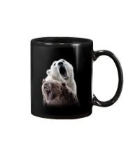 Polar Bear And Brown Bear Mug thumbnail