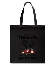Pig Therapy Tote Bag thumbnail