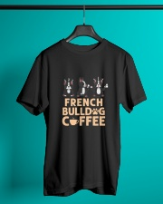 FRENCH BULLDOG COFFEE Classic T-Shirt lifestyle-mens-crewneck-front-3