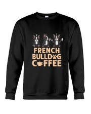 FRENCH BULLDOG COFFEE Crewneck Sweatshirt thumbnail
