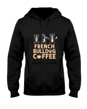 FRENCH BULLDOG COFFEE Hooded Sweatshirt thumbnail