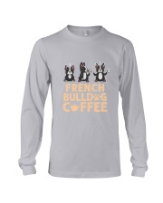 FRENCH BULLDOG COFFEE Long Sleeve Tee thumbnail