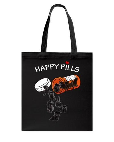 Black Cat Happy Pills