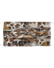 Jack Russell Terrier Awesome H27857 Cloth face mask front