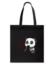 Panda Hungry Tote Bag thumbnail