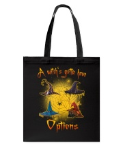 Black cat - Options of a witch Tote Bag thumbnail