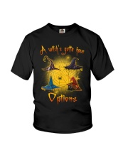 Black cat - Options of a witch Youth T-Shirt thumbnail