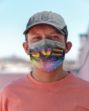 LGBT Peace Love T827 Cloth face mask aos-face-mask-lifestyle-06