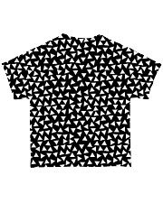 Cat Black And White T5TS All-over T-Shirt back
